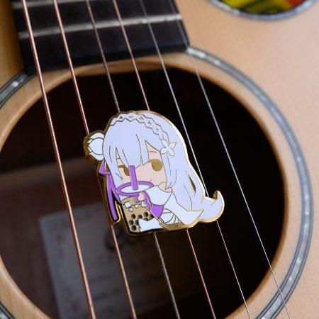 Emilia x Milk Tea Enamel Pin