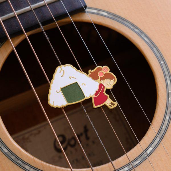 Arrietty's Onigiri Enamel Pin