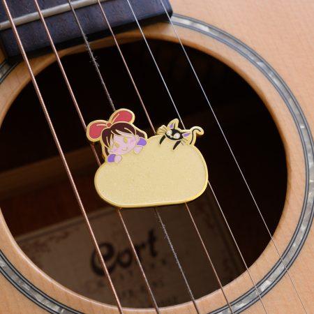 Kiki & Jiji's Mochi Enamel Pin